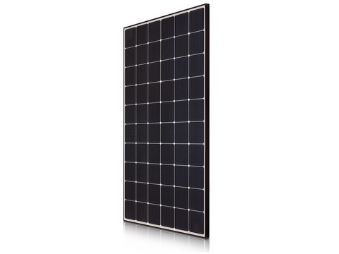 Viridian Clearline 270W Poly White Backsheet BIPV roof integrated solar panel