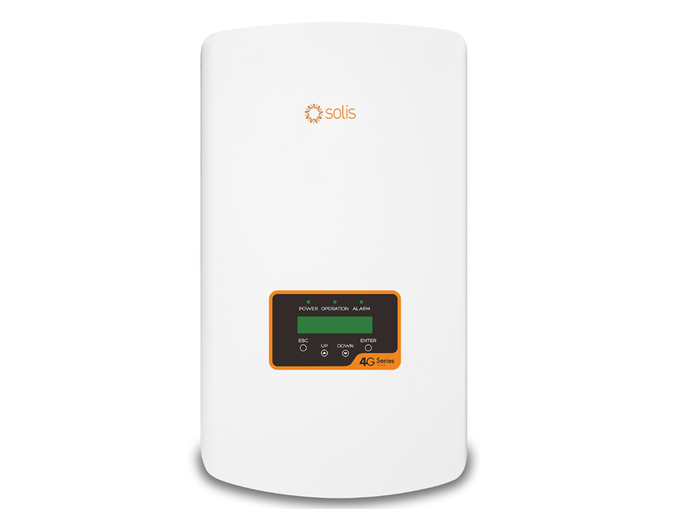 Solis 4.6kw single phase on grid Solar Inverter 4G Dual MPPT - DC