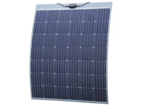 200W Semi-Flexible solar panel with self adhesive backing for boats, caravans, , etc (made in Austria)
