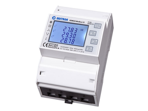 Energy Meter SDM630 three-phase Modbus Meter for Solax X3 100A