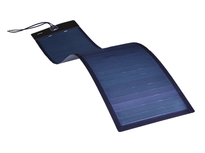 BiPVco 125Wp Peel-and-Stick Flexible Solar Panel - 5 year warranty