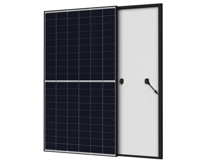 370W Longi HiMo4 Black Framed Split Cell Mono (white backsheet) Solar Panel