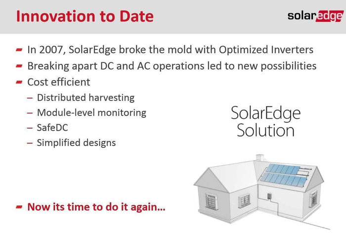 SolarEdge 3680W Single Phase HD Wave Inverter NO DISPLAY - I.T.S Technologies