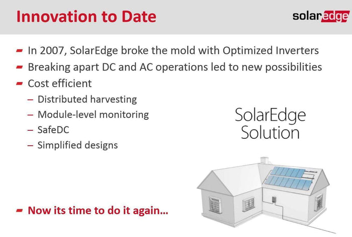 SolarEdge 10000W Single Phase HD Wave Inverter NO DISPLAY - I.T.S Technologies