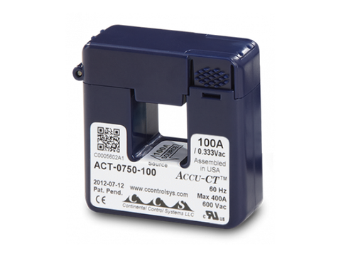 100A Split-Core Current Transformer for SolarEdge Energy Meters with Modbus Connection