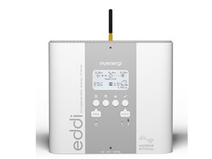 Myenergi EDDI Energy Diverter - Diverts surplus solar energy to your hot water