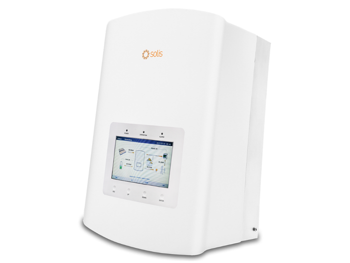 Solis 5kW Hybrid Energy Storage Inverter with DC switch for solar battery storage