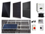 6 X Solar Panel complete PV kit with choice of panels - LEVEL 5