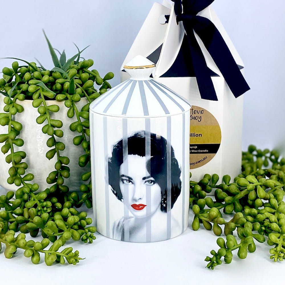 Luxe Canister Soy Candle • Elizabeth Taylor (Choose Your Fragrance)