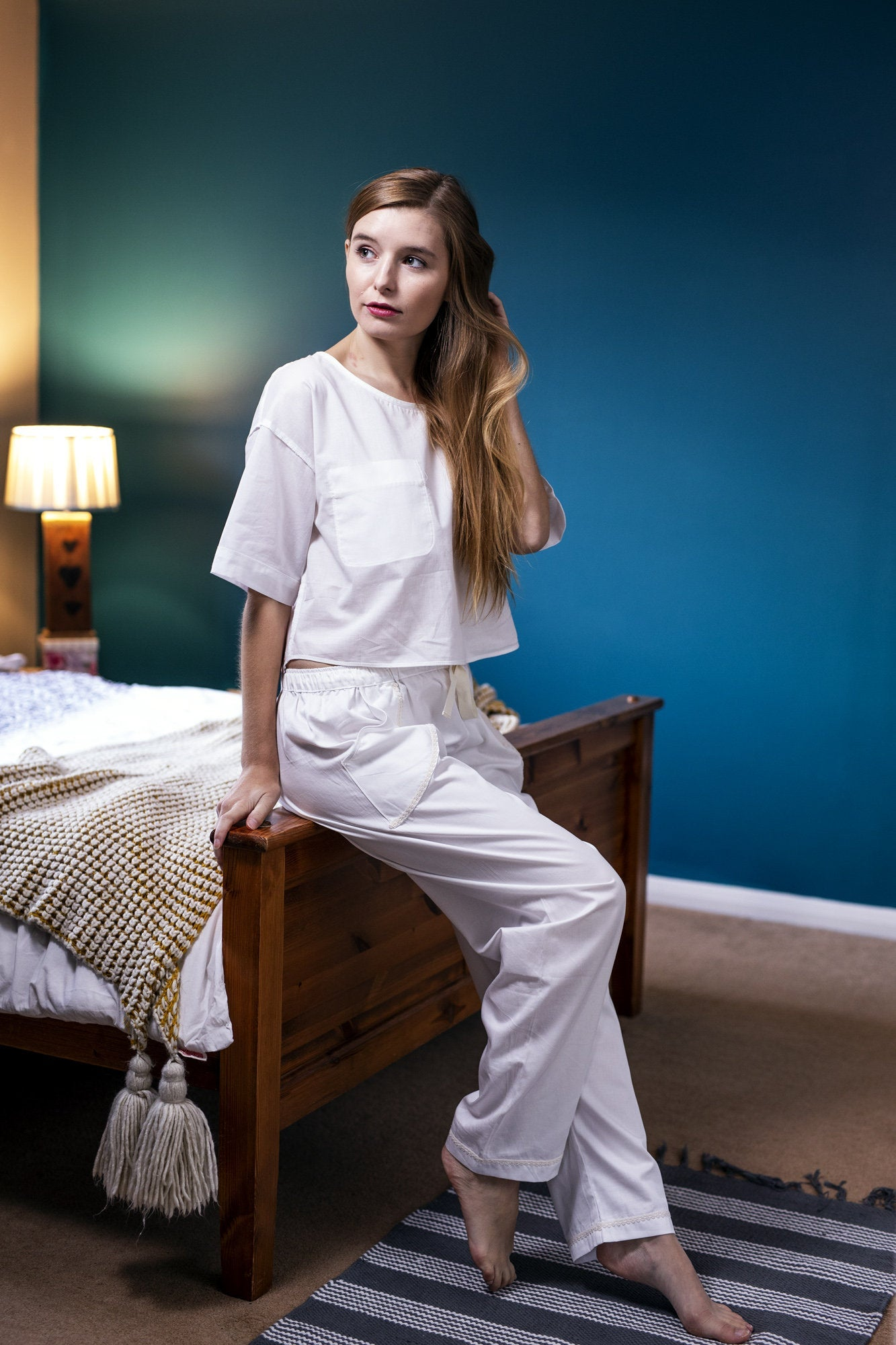 Organic cotton pyjama set,