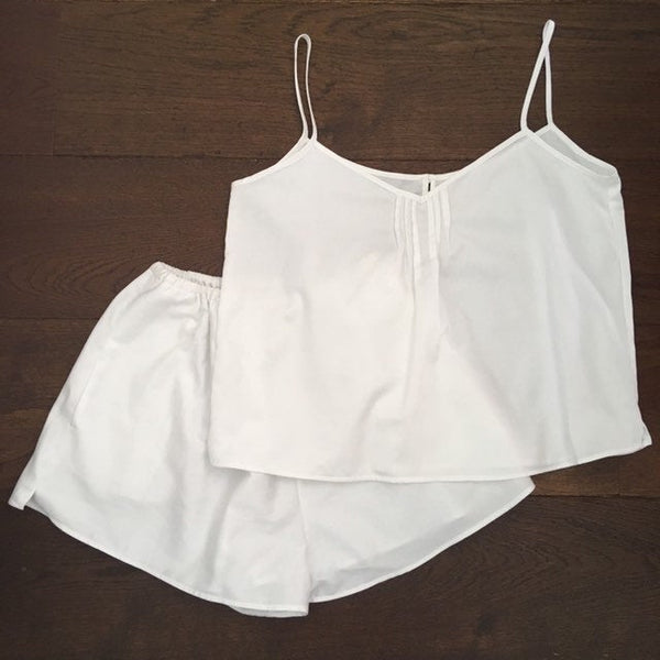 Organic Cotton Summer Pyjama shorts set