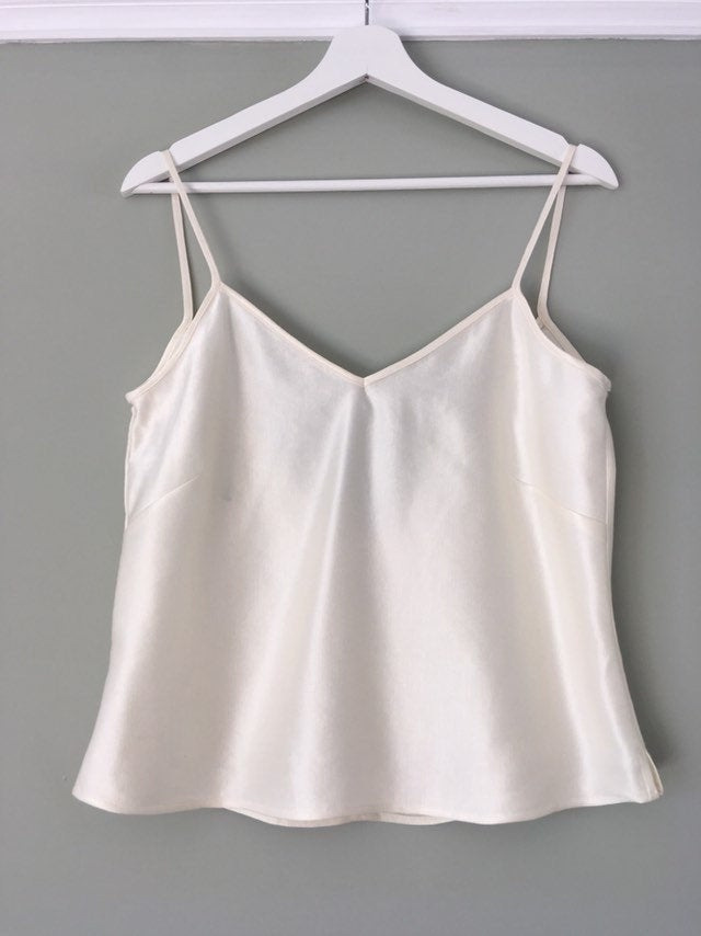 hemp/silk cami top,