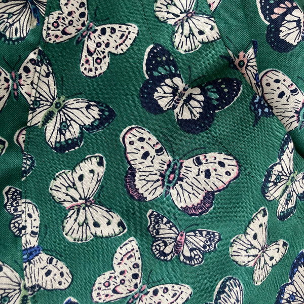 Butterfly print organic cotton pyjama set