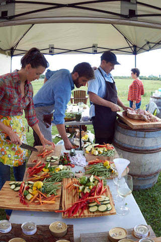 Fall Lunch and Tasting at Trail Estate Winery