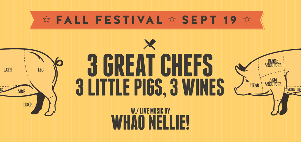 Fall Festival Ticket - September 19th - Trail Estate Winery