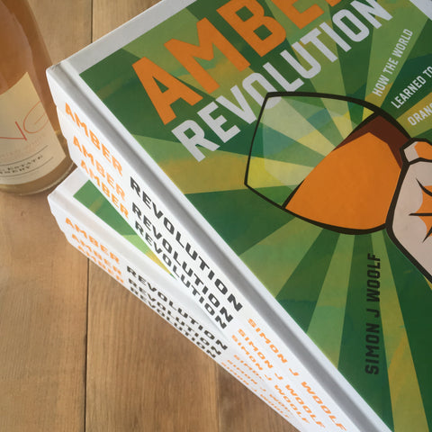 Amber Revolution Hardcover Book - Trail Estate Winery