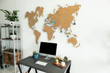 Load image into Gallery viewer, CORK WORLD MAP