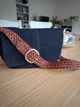 Load image into Gallery viewer, Back in the saddle - Denim with Red & White Lining