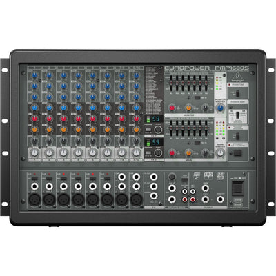 Consola Amplificada Activa Behringer Pmp1680s 10 Canales