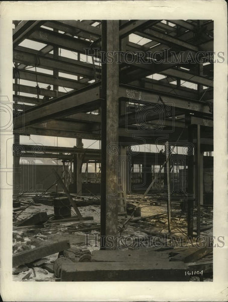 1927 Press Photo New York Arc Welded Building Sharon Works Westinghouse NYC - Historic Images