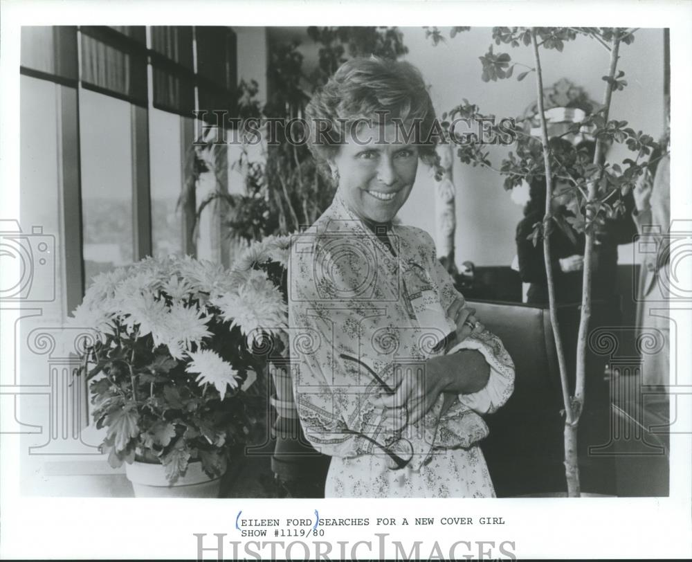 1982 Press Photo Eileen Ford, of the Ford Modeling Agency - mjb12116