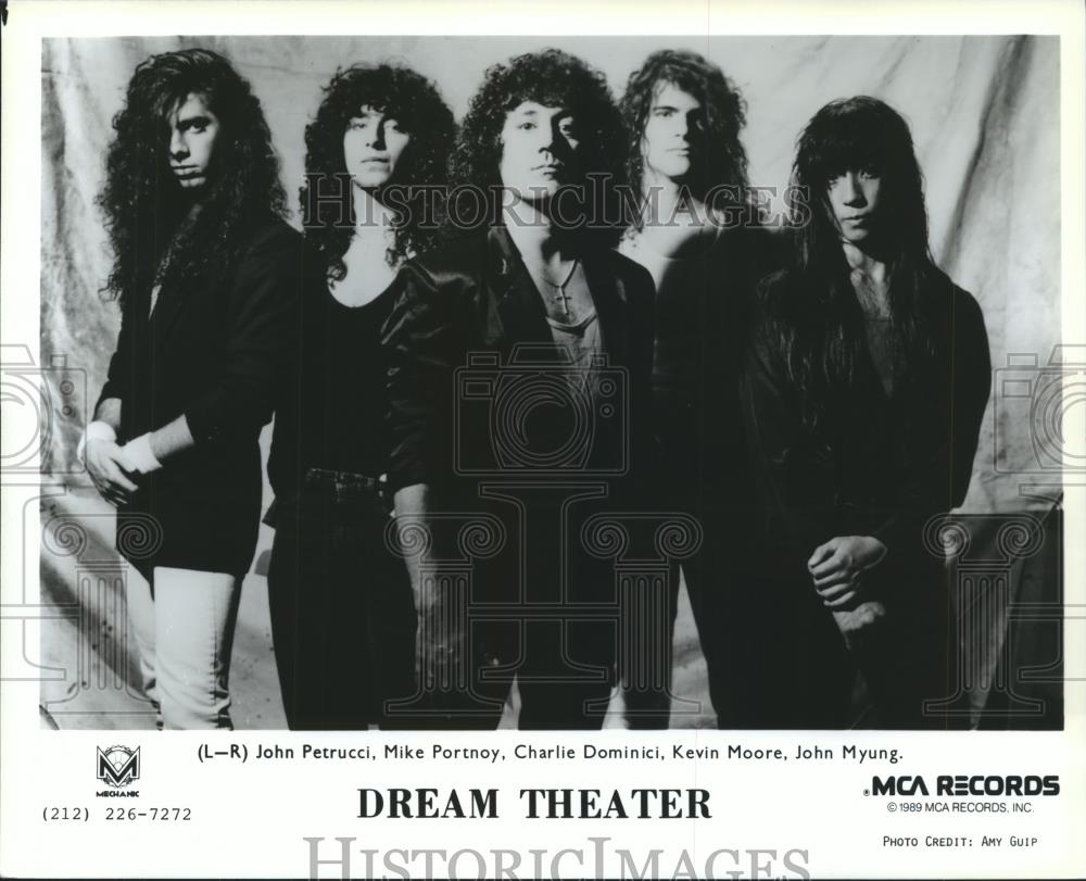 1990 Press Photo Members Of The Dream Theatre Spp26595 Historic Images
