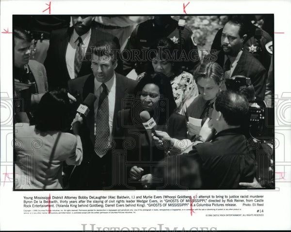 "1996 Press Photo A scene from the film, ""Ghost Of Mississippi"" - spp21735 - Historic Images"
