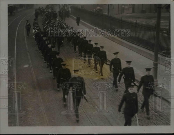 1921 Press Photo Funeral of Late Divisional Commissioner Holmes - nem40121 - Historic Images