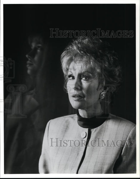 1993 Press Photo Erica Flores and Barbara Eden in Visions of Murder. - cvp94258 - Historic Images