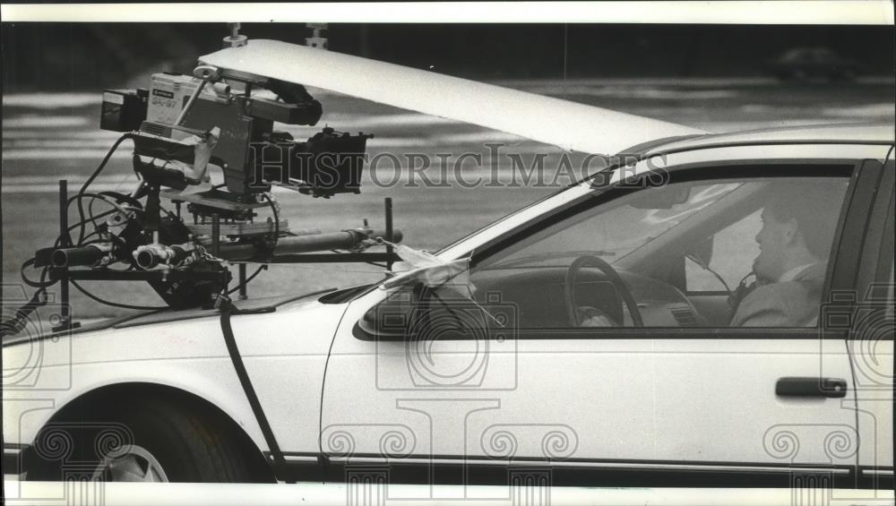 Northwestern Car Insurance >> 1990 Press Photo Northwestern Mutual Life Insurance Co Commercial With Rod Clark