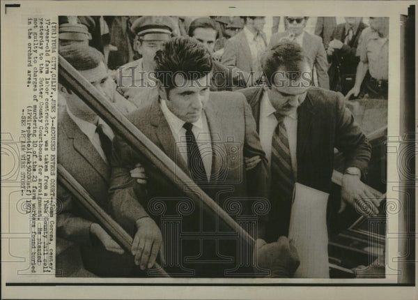 1971 Press Photo Juan Corona Murderer Sutter County - RRV19571 - Historic Images