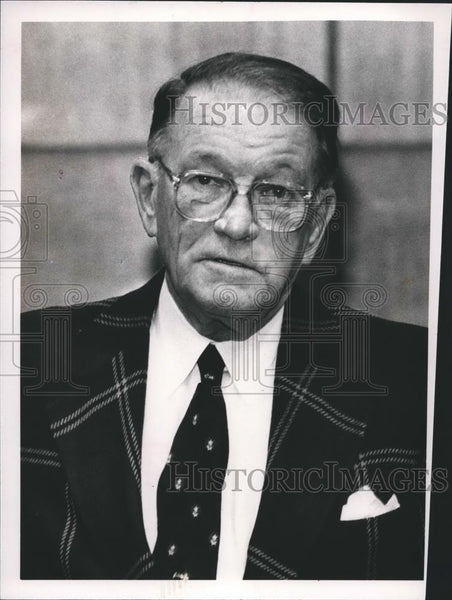 Press Photo Jefferson County Judge William Cole retires, Alabama - abna24959 - Historic Images