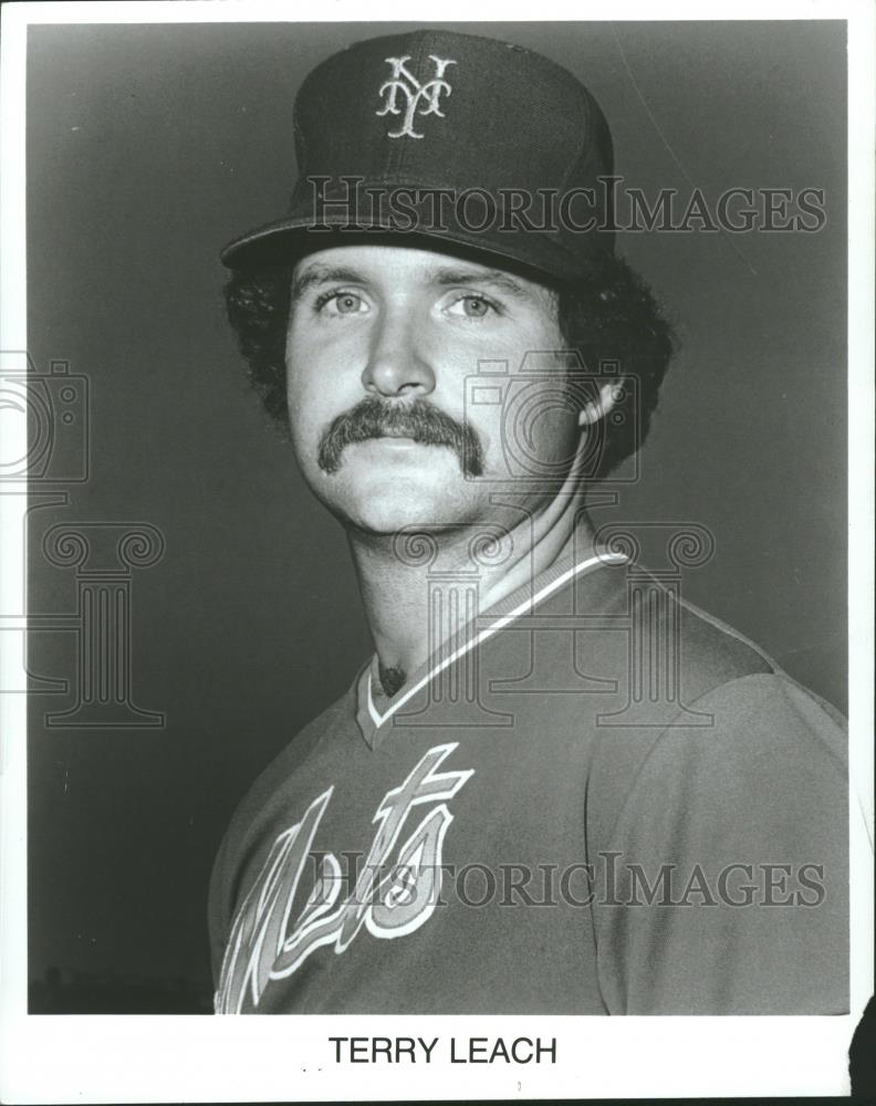 Press Photo Terry Hester Leach Major League Pitcher - RRQ27383 - Historic Images
