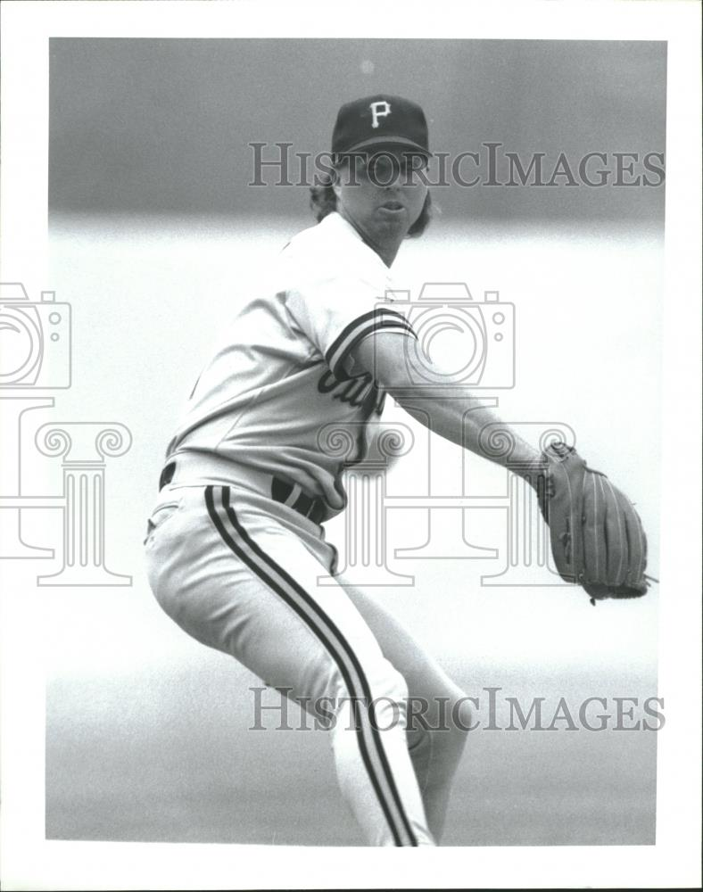 Press Photo Zane William Smith American Major League - RRQ27697 - Historic Images