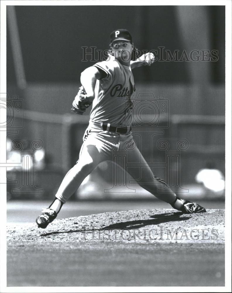 Press Photo Zane William Smith Pittsburgh Pirates major - RRQ27699 - Historic Images