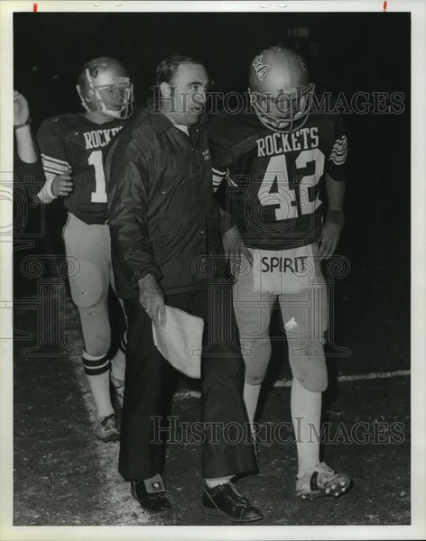 1979 Press Photo Gardendale High School - Coach Eddie Bruce and David Mann - Historic Images