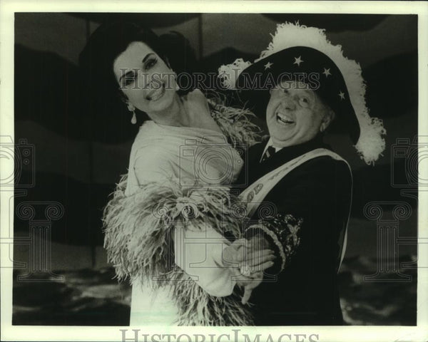 1985 Press Photo Mickey Rooney in 'Sugar Babies' - mjc06824 - Historic Images