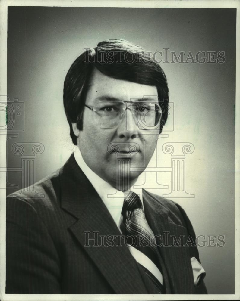 1981 Press Photo Jerry Taft WISN TV Milwaukee anchor Channel 12 Action News