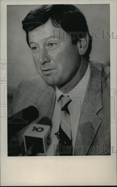 1980 Press Photo Steve Spurrier, football coach - abns07137 - Historic Images