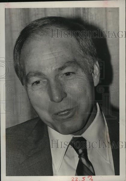 1985 Press Photo Former quarterback Bart Starr - abns07159 - Historic Images