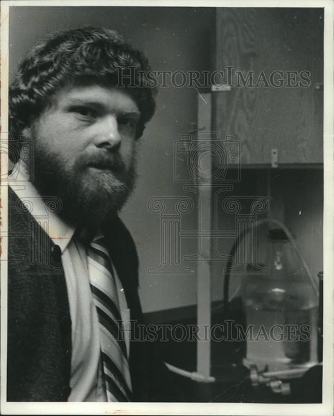 1978 Press Photo Dean Schultz, municipal & sanitary engineer, Wisconsin - Historic Images