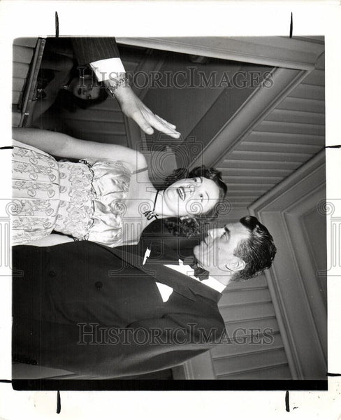 1949 Press Photo Audrey Totter Fred De Cordova Paul - Historic Images