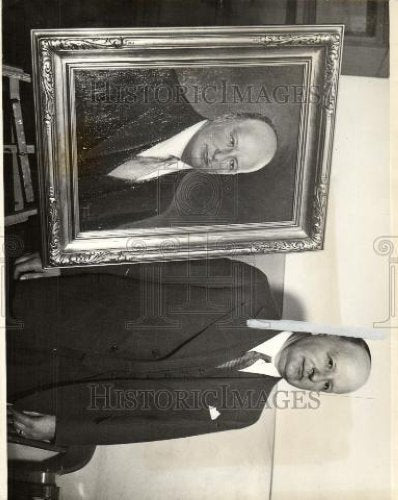 1933 Press Photo Harry Toy prosecutor portrait attorney - Historic Images