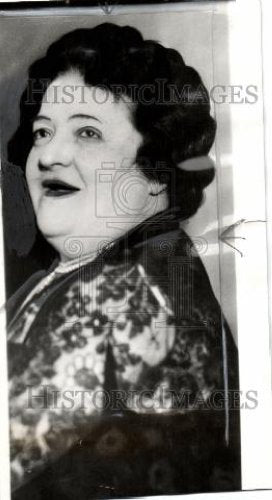 1940 Press Photo Luisa Tetrazzini heart imflammation - Historic Images
