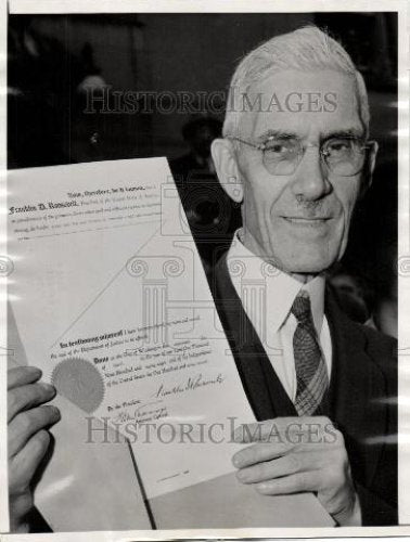 1938 Press Photo Francis E. Townsend - Historic Images