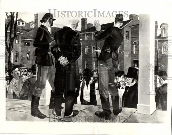 1933 Press Photo John Brown Daniel Boza - Historic Images