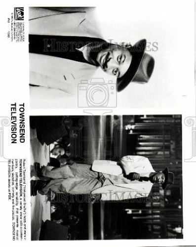 1933 Press Photo ROBERT TOWNSEND HOLLYWOOD SHUFFLE - Historic Images