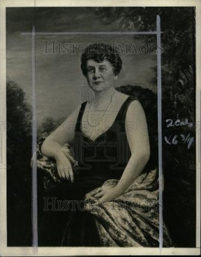 1934 Press Photo Mrs. James Couzens wife of MI senator - Historic Images