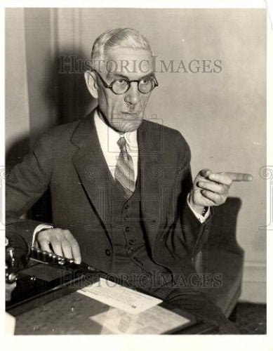 1934 Press Photo F. E. Townsend pension proposal - Historic Images