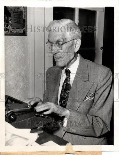 1949 Press Photo Dr Francis E Townsend founder old age - Historic Images